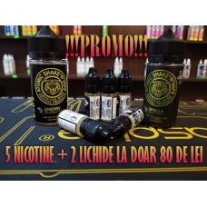 Promo 5 nicotine + 2 Lichide